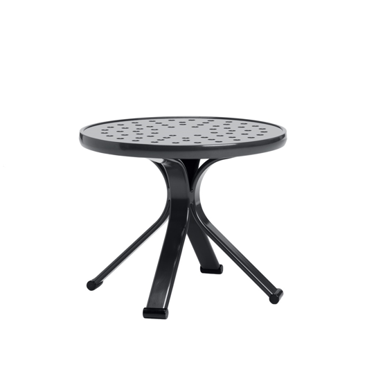 """Picture of 18"""" ROUND OCCASIONAL TABLE, NOVA ALUMINUM TOP"""