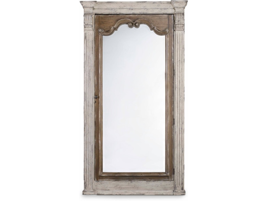 Picture of ACCENTS CHATELET FLOOR MIRROR W/JEWELRY ARMOIRE STORAGE