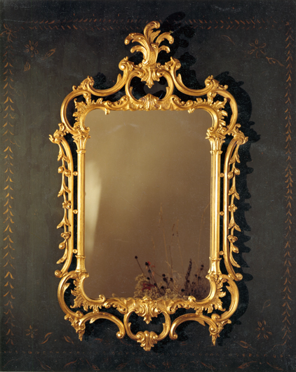 Picture of ACANTHUS LEAF CHIPPENDALE MIRROR