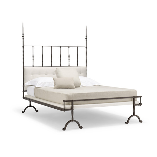 Picture of 17TH CENTURY ITALIAN IRON BED (LOW POST)