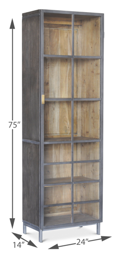 Picture of A GEM OF A HANDLE DISPLAY CABINET,RIGHT