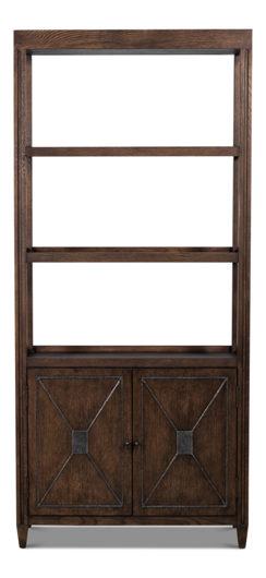 Picture of ATLAS BOOKCASE, ARTISAN GREY