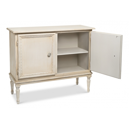 Picture of 2 DOOR SIDEBOARD, BRIGHT LIME WHITE
