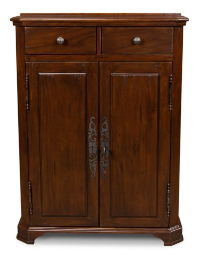 Picture of AUSTRIAN HALL CABINET, WALNUT
