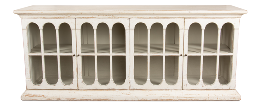 Picture of 24 ARCHED SIDEBOARD, WHITEWASH