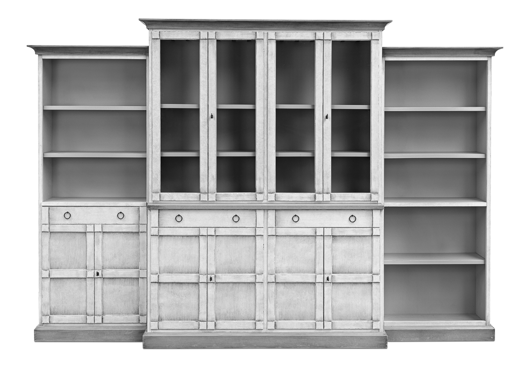 Picture of 4 PIECE FULL WALL UNIT, UNFINISHED