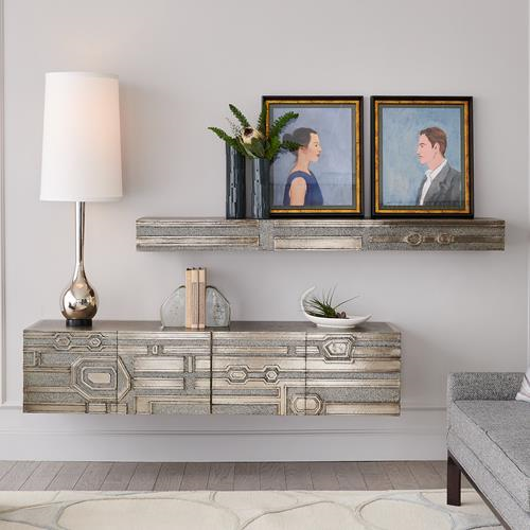 Picture of ABSTRACT BLOCK FLOATING SHELF